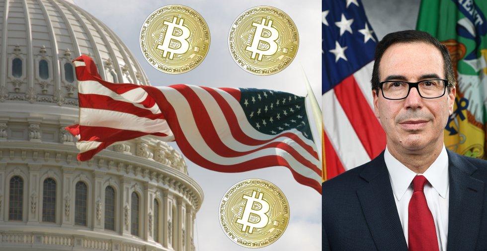 USA:s finansminster om kryptovalutor: Får inte bli en modern version av schweiziska bankkonton