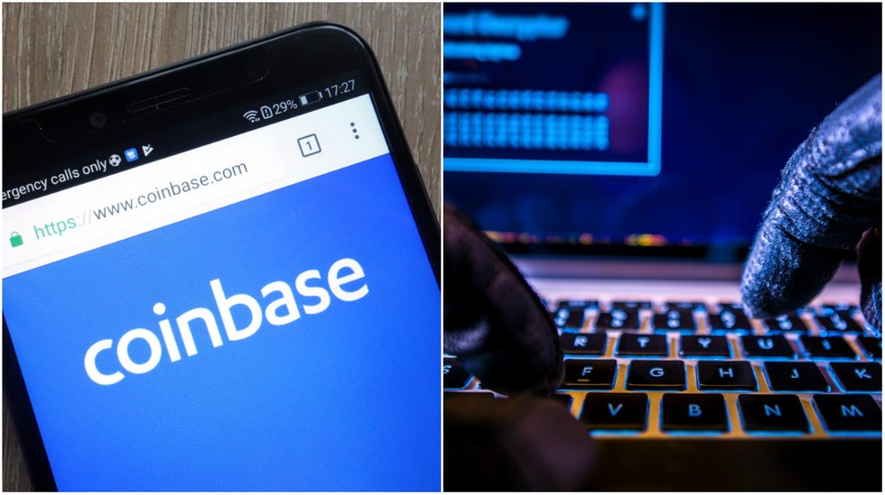 Daily crypto: Coinbase halts transactions after suspected hacker attack and markets are going down.