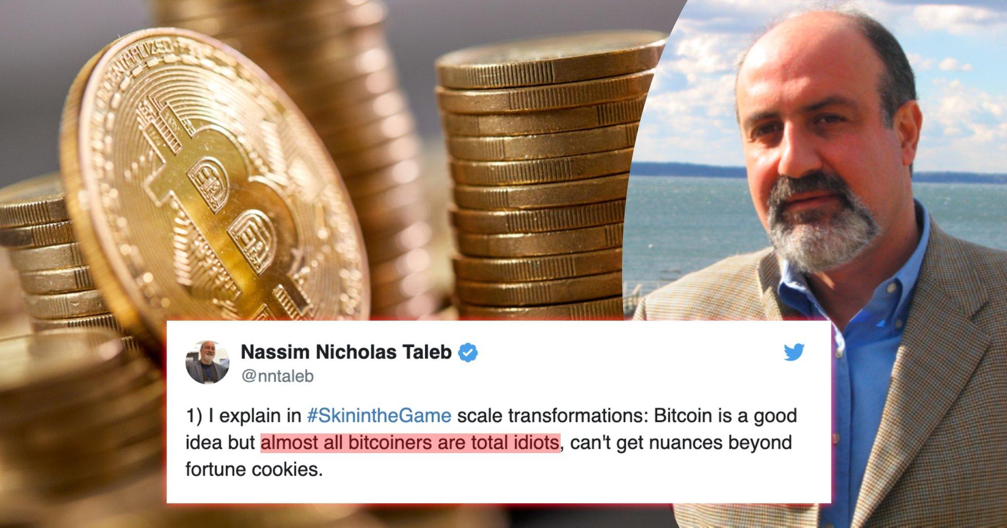 Känd författare: Nästan alla som håller på med bitcoin är idioter