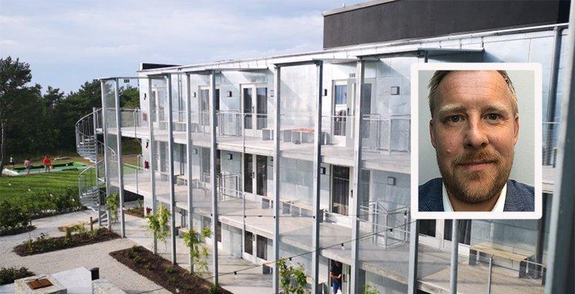 Johan Appelgren har gått hela vägen inom First Hotels. Och han kan inte tänka sig en bättre bransch. Foto: Pressbild