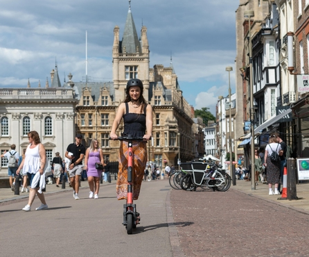 Voi wins first large-scale exclusive e-scooter UK trial with Cambridgeshire and Peterborough Combined Authority