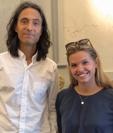 Jonas Hassen Khemiri möter Flora Wiström: