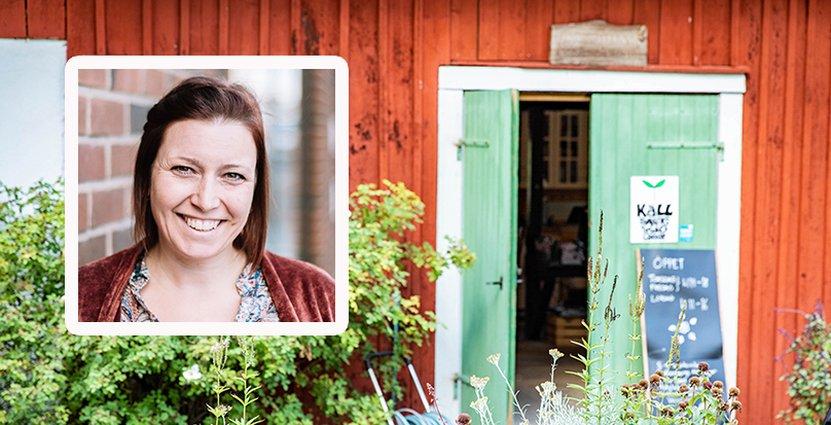 Susanne Thorsson, projektledare för Falkenbergs Matdagar som i år får en ny skrud.  Foto: Caroline Andersson