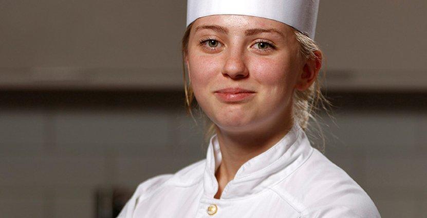 Har altid vetat att hon ska bli kock. Annie Lundin är ny kapten för Juniorkocklandslaget.