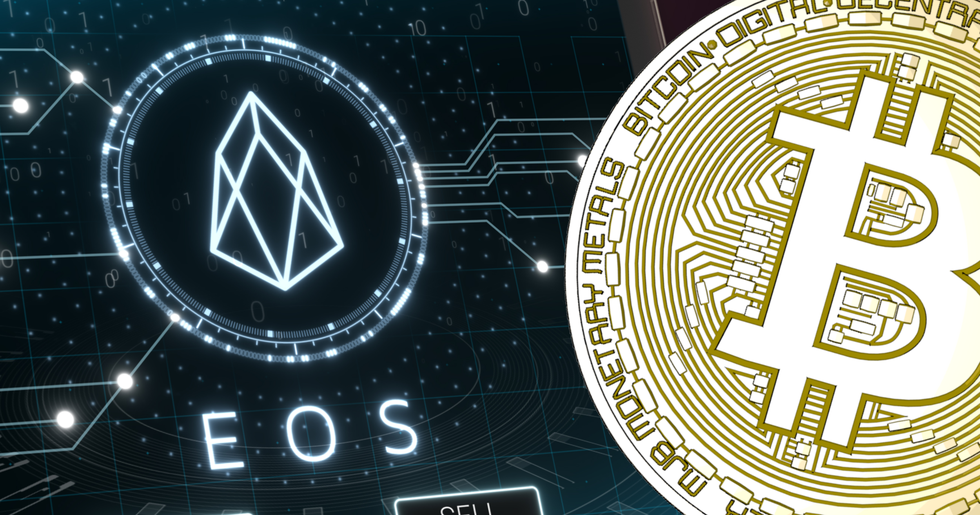 Eos increases the most on calm crypto markets.