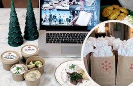 Digitalt julbord räddar december för konferensanläggning