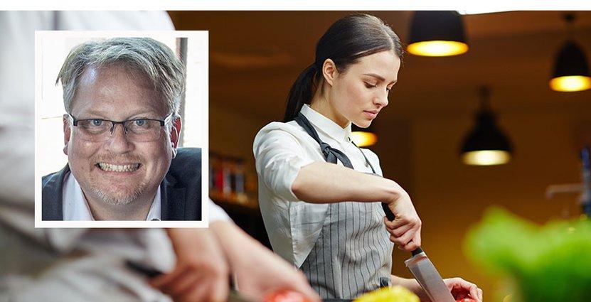 Ulf Bergström, rektorpåCampus Laholm, som startar Hotell och turismutbildning.  FOTO: Privat/Colorbox