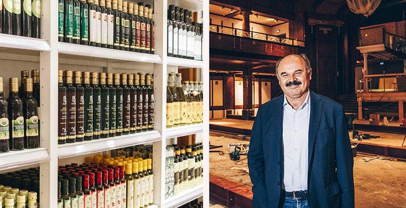 Eataly, som slår upp dörrarna i morgon, har blivit ett starkt varumärke för italiensk turism, enligt grundaren Oscar Farinetti.  Foto: Eataly