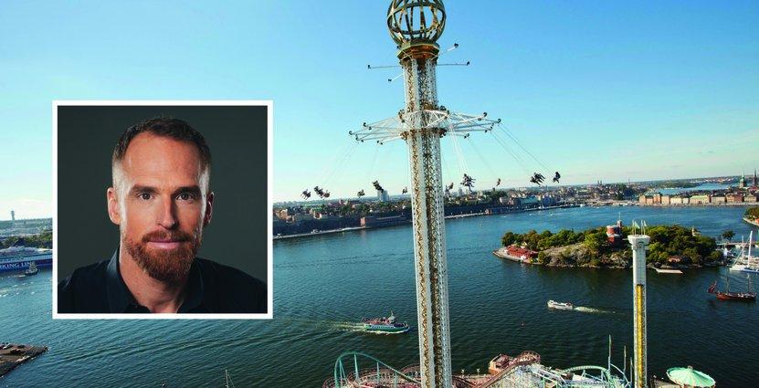 Parks and Resorts koncernchef Christer Fogelmarck. Foto: Parks and Resorts
