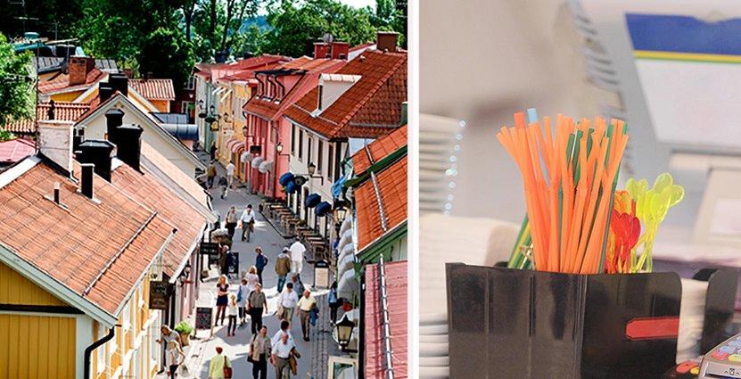 Målet är att Sigtunas hotell år 2020 ska vara så gott som plastfria. Foto: Destination Sigtuna/Colourbox