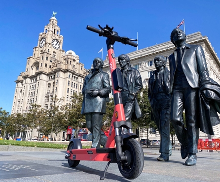 Baby, You Can Drive My —  Voi E-Scooter in Liverpool!