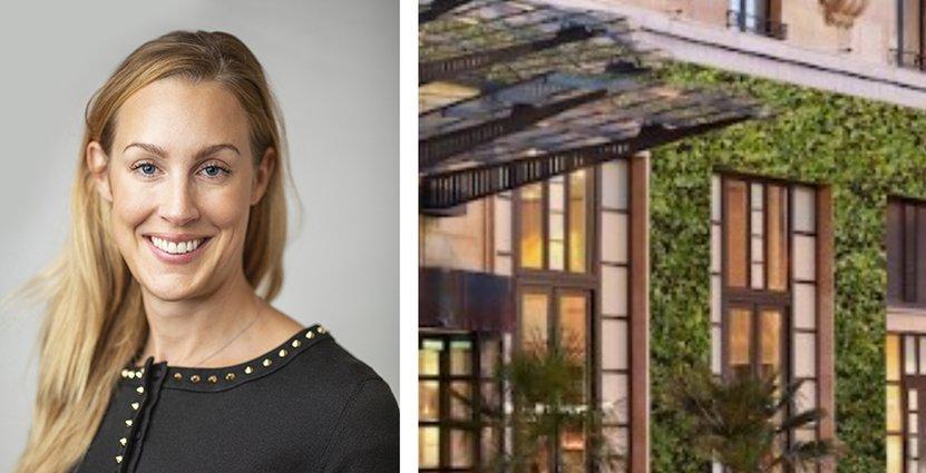 Caroline Tiveus hoppas att en stor del av verksamheterna som drivs i Pandox fastigheter framöver ska kunna bli certifierade gröna fastigheter. FOTO: Pandox