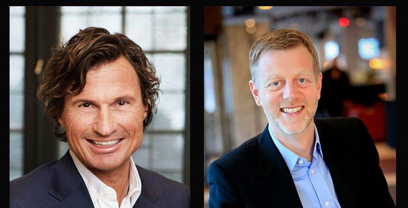 Dider och Stordalen nomineras för sina bidrag<br />  till att lösa kompetensbristen inom hotellnäringen. Foto: Pressbilder