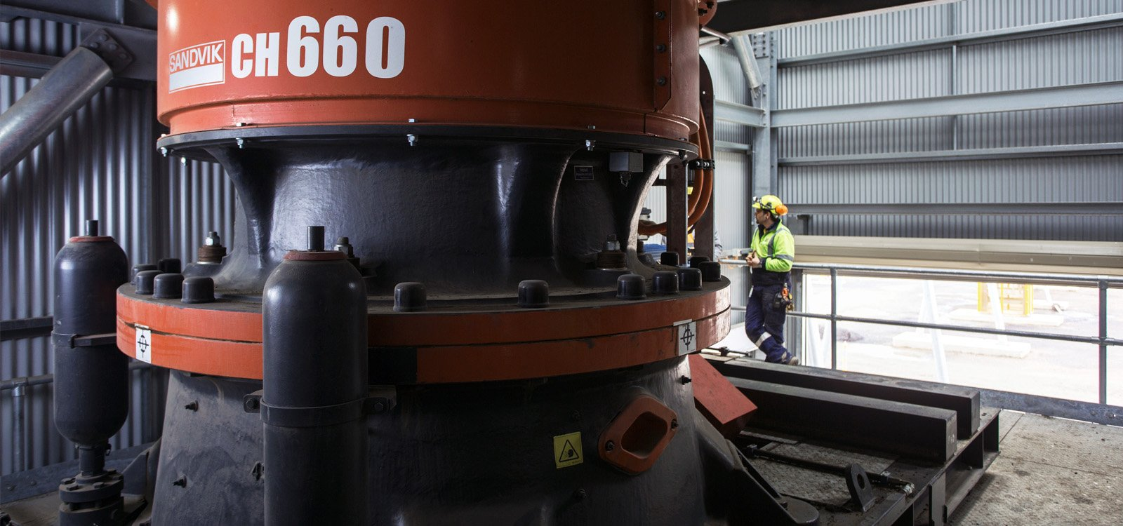 <p>Designed and supplied by Sandvik, Boral's processing plant has performed above targeted production rates.</p>