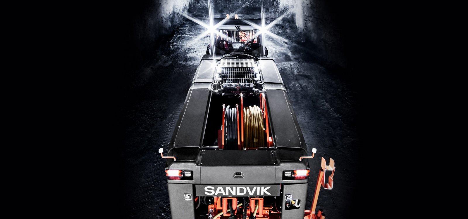 Sandvik DD422iE innovations include a 3D scanning navigation option and a new improved boom.
