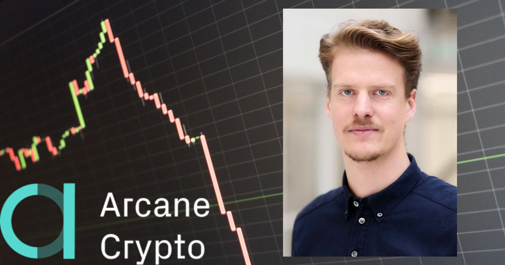Efter galna kursrusningen – nu berättar Arcane Cryptos vd om de omtumlande börsdagarna.