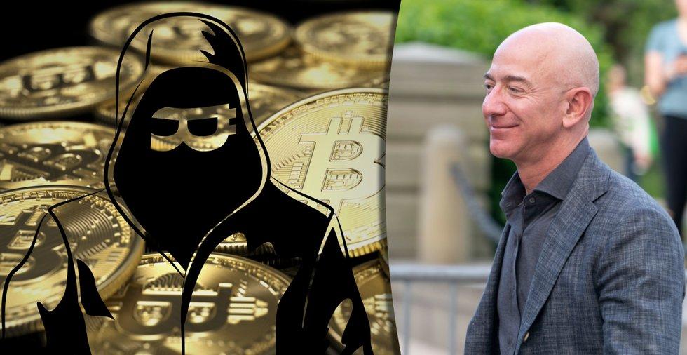 Då kan Satoshi Nakamoto bli lika rik som Jeff Bezos