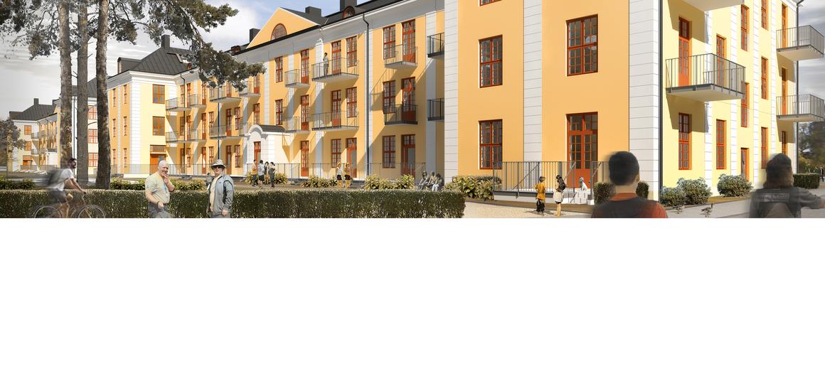 Åke Sundvall ska bygga 90 lägenheter på Rindö