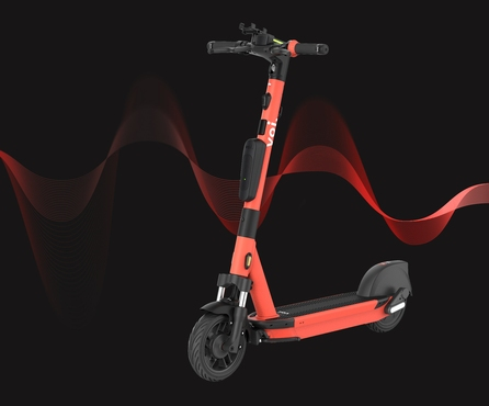 Introducing sound into Voi's electric scooters