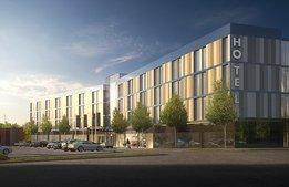 Han blir chef över nya First Hotel på Arlanda