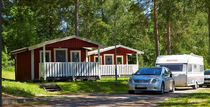 Dagens campinggäster vill ha kvalitet och komfort, därför jobbar många anläggningar på att höja standarden.  Foto: Anna Hult