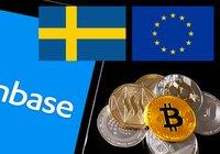 Coinbase lanserar sitt kryptobetalkort i fler EU-länder – däribland Sverige