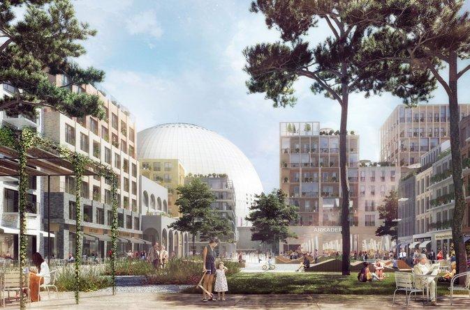 Åke Sundvall vinner markanvisningstävling för Hovet- och Söderstadiontomten i ett konsortium