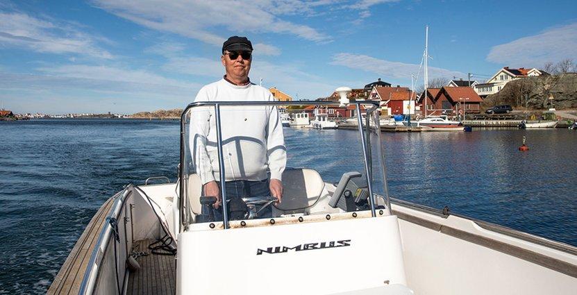 Joacim Lager på Västkustgruppen, har precis som många andra, svårt att hitta säsongspersonal.  Foto: Ines Sebalj