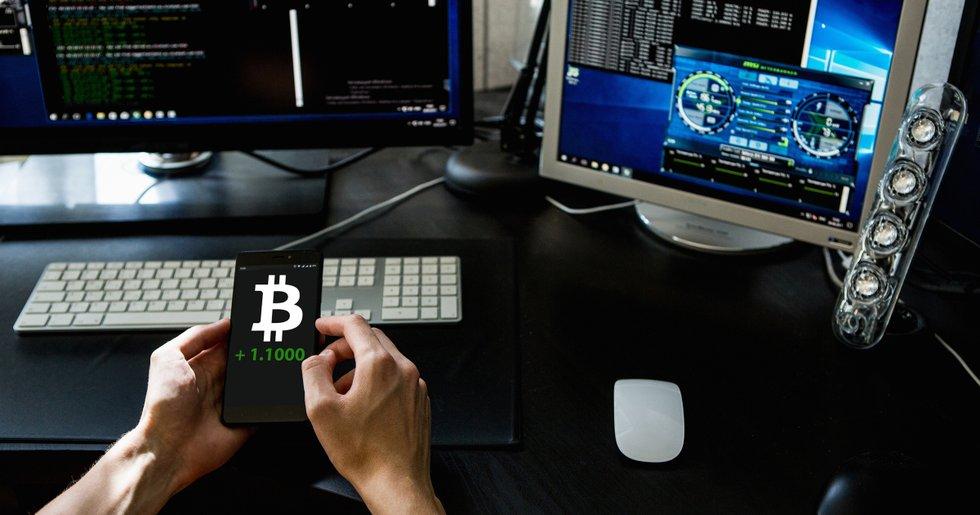 Bitcoinpriset får ny fart – har stigit 10 procent sedan i natt.