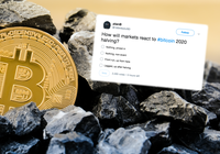 One year left to bitcoin's halving – now 60 percent believe that the price will go up