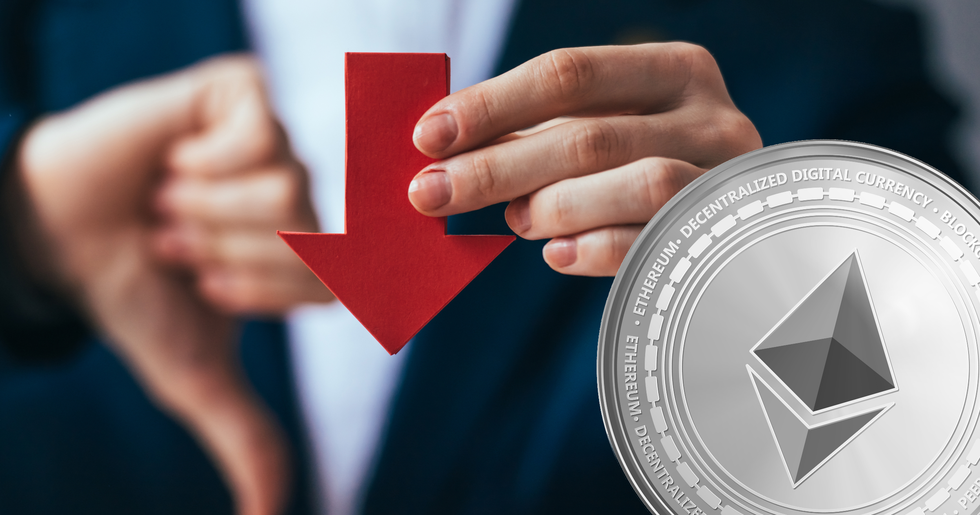Bloody in the crypto markets – ethereum declines seven percent.