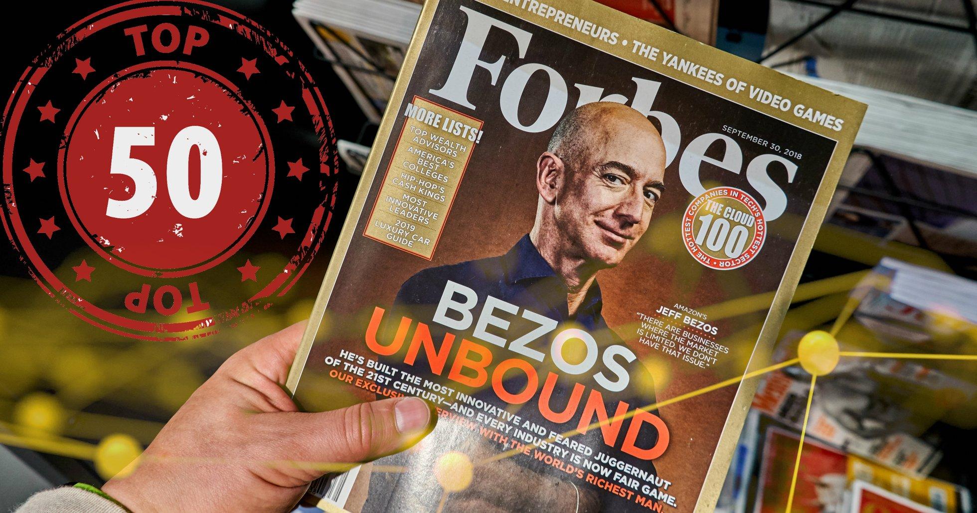 Forbes släpper topplista över hetaste fintechbolagen – 6 av dem sysslar med kryptovalutor.