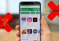 Google Play plockar bort appar tillhörande populära kryptonyhetssajter