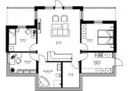 Se planritning för Villa Stormon