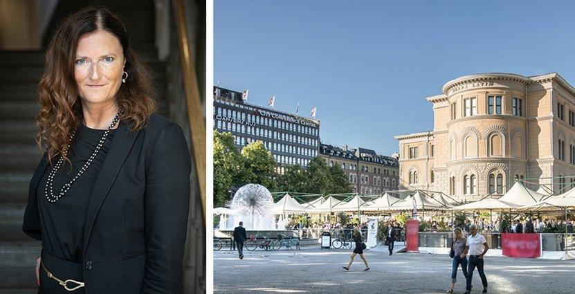Carin Sjöberg, vd på SCCC, efterlyser en diskussion om säkra möten.