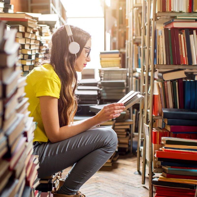 10 gif:ar som beskriver livet som boknörd
