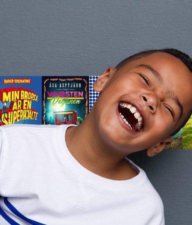 Experten: Humor är bästa sättet att få barnen att älska böcker