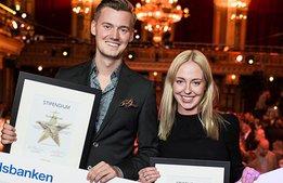 Vilka vinnare! De två blev Årets Unga Branschstjärna