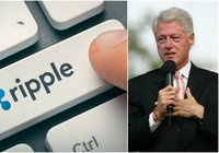 Daily crypto: Xrp declines the most despite big Ripple conference where Bill Clinton spoke