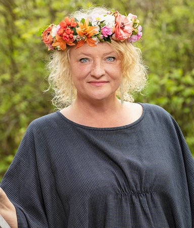 """Anna Takanen: """"Att sommarprata är fortfarande lika pirrigt"""""""
