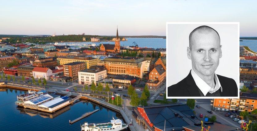 Mattias Mannberg, affärsutvecklare vid Luleå Business Region. Foto: Viveka Österman och Visit Luleå.