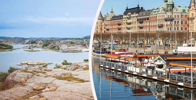 Sverige lockar fler turister – uppåt för hotellen