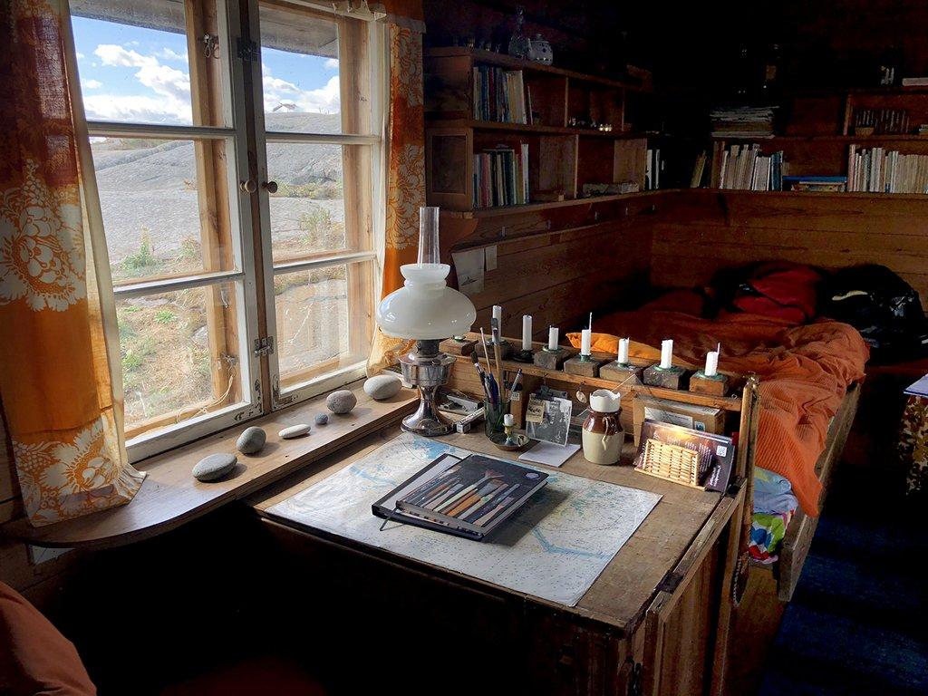 Tuulikkis skrivbord