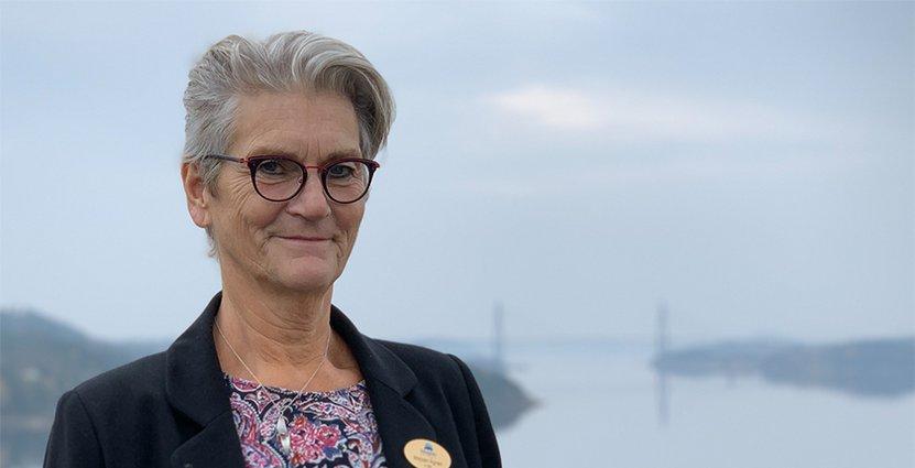 Tillsammans med Vuxenutbildningen Uddevalla har Majsan Ågren<br />  startat en servis- och bemötandeutbildning för nyanlända. Foto: Privat