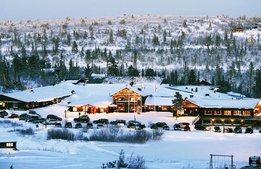 Här är högfjällshotellet som satsar året runt