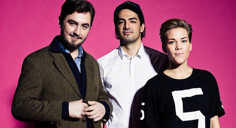 Jack Werner, Mehrdad Mahdjoubi och Agnes-Lo Åkerlind är tre av årets Uppstickare