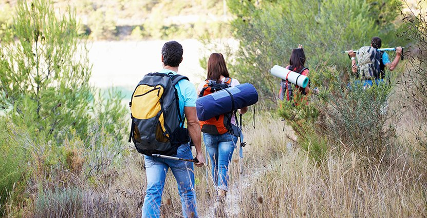 En växande trend är att semestra hemma, enligt STF. Foto: Colourbox