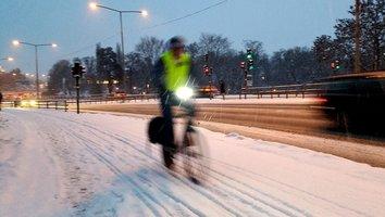 Vintercyklist – javisst!
