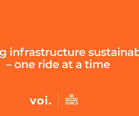 How Voi contributes to the UN Sustainable Development Goals – SDG 9: Voi and sustainable industry, innovation and infrastructure
