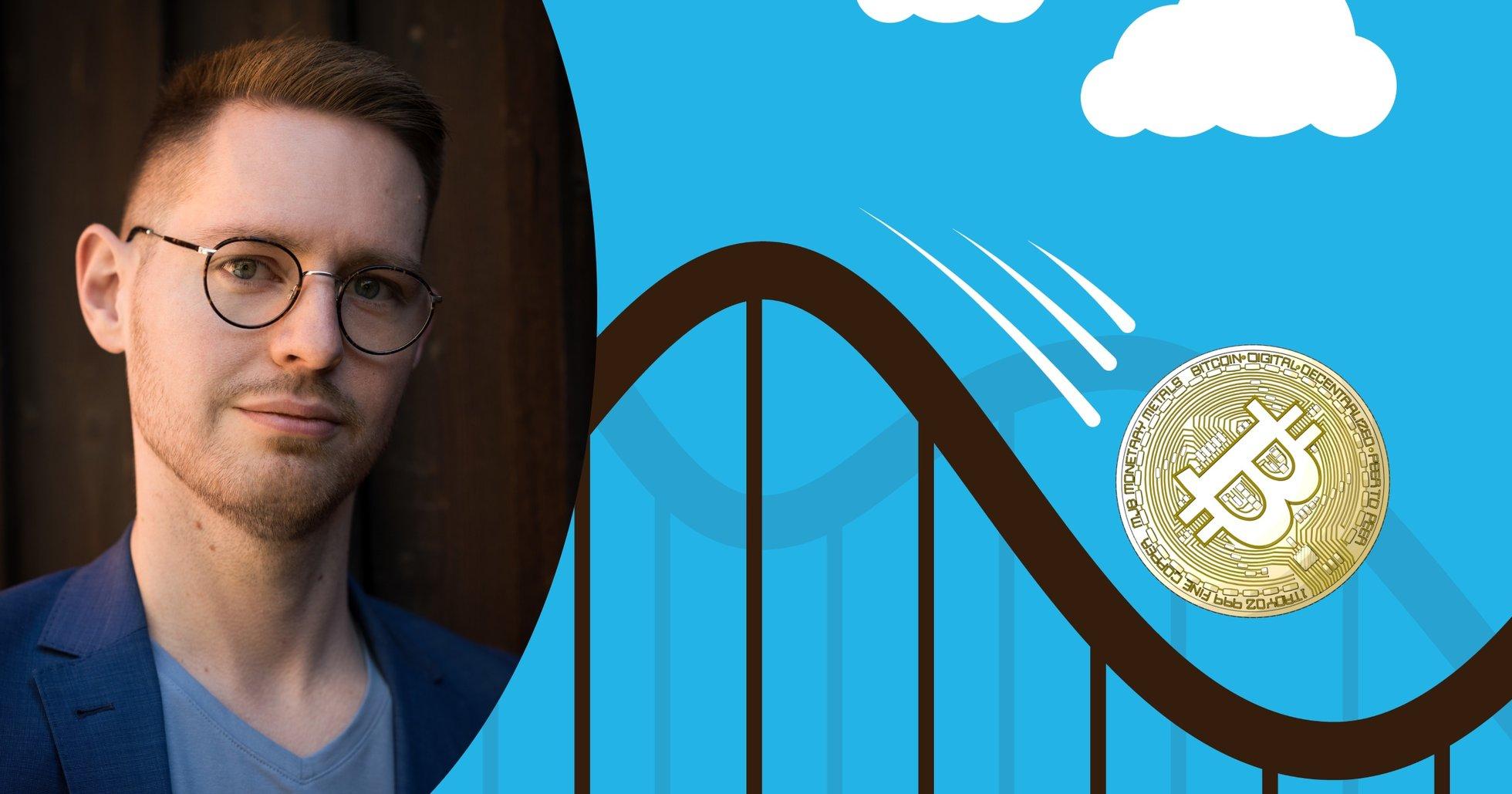 Kryptoexpert efter bitcoins pristapp: Marknaden verkar nervös och osäker